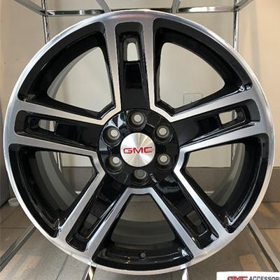 22 Inch Black 6-spoke Rim
