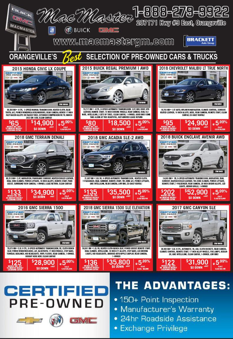 Orangevilles Best Selection of Pre-Owned Cars & Trucks