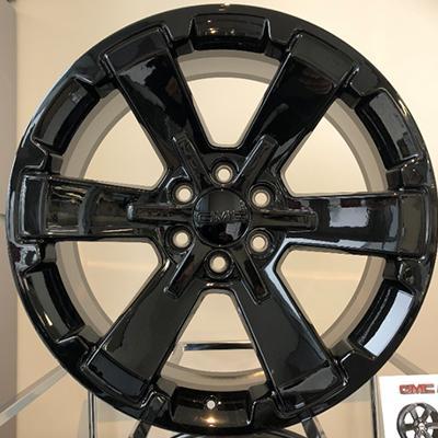 22 Inch Black 6 Spoke Rim